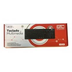 TECLADO GTC KBG-204  KBG-205