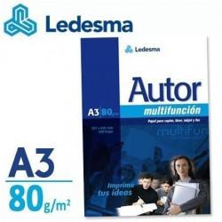 RESMA LEDESMA AUTOR 80GRS....