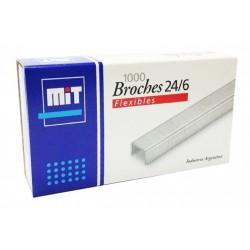 BROCHES MIT 24/6 X 1000