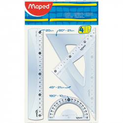 SET GEOMETRIA MAPED 3...